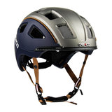 casco e motion 2 - navy casual - e bike helm zij voor