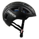 2casco e motion 2 zwart mat - e bike helm zij
