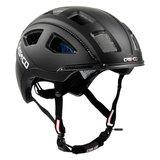 casco e motion 2 zwart mat - e bike helm zij