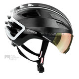 casco speedairo 2 zwart fietshelm met vizier carbonic multilayer 04.5027.U