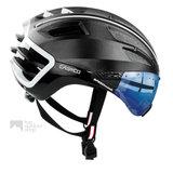 casco speedairo 2 zwart fietshelm met vizier carbonic multilayer 04.5028.U