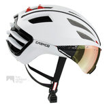 casco speedairo 2 wit fietshelm met vizier carbonic multilayer 04.5027.U