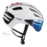 casco speedairo 2 wit fietshelm met vizier carbonic multilayer 04.5028.U