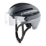 cratoni commuter grijs mat - cratoni pedelec helm