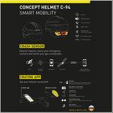 Fietshelm Cratoni Smartride met vizier - Fietshelm Speed Pedelec kopen online - zwart 3 2