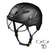 CP Chimayo+ zwart - speed pedelec helm - vizier kiezen