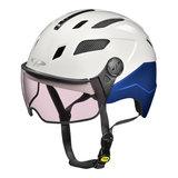 CP Chimayo+ wit-blauw magic-  photochromic- speed pedelec helm - e bike helm