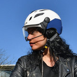 CP Chimayo+ wit-blauw e-bike pedelec helm photochromic - actie