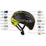 Casco helm Speedairo RS kopen - beste fietshelm met vizier – Casco fietshelm racefiets grijs eigenschappen