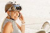 Casco helm Roadster bronce kopen - beste fietshelm - kan met fietshelm vizier als optir 3602