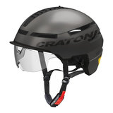 Fietshelm Cratoni Smartride  met vizier - Fietshelm Speed Pedelec kopen online - fietshelm met vizier en verlichting 2