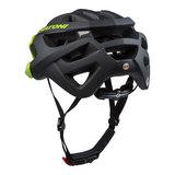 mtb helm Cratoni C-Hawk zwart groen - goede mountainbike helm kopen 110708D1