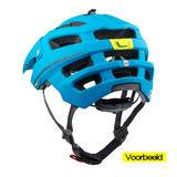 mtb helm Cratoni alltrack groen - mountain bike helm met go pro port vb