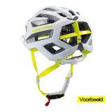 mtb helm dames Cratoni flash blauw - prima mountainbike helm dames in mtb test vb