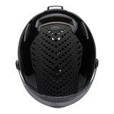 bell annex shield mips zwart kopen - e bike helm bell - bell fietshelm met vizier - boven