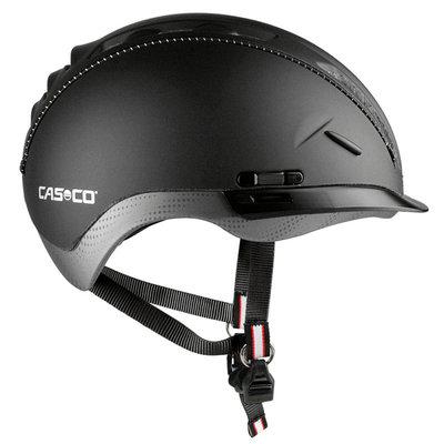 Casco Roadster zwart e bike helm - Met zon beschermer
