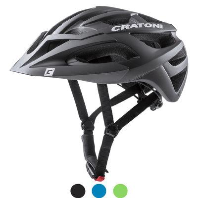 cratoni c-ace mtb helm - met zonnevizier (afneembaar) - keuze uit 3 varianten!