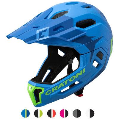 cratoni c-maniac 2.0 MX - mtb helm full face met cameraport - keuze uit 6 varianten!