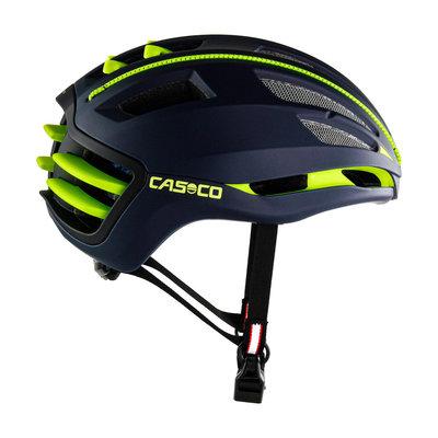 Casco SPEEDAIRO 2 blauw-geel - kan met vizier! - Pedelec helm - Racefietshelm - Schaatshelm