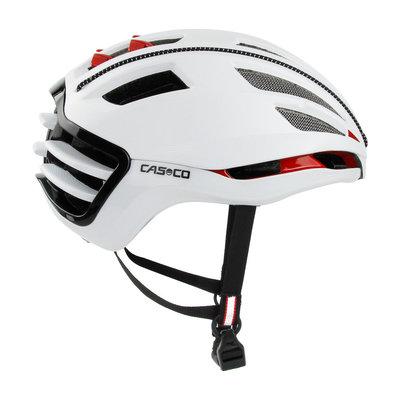 Casco SPEEDAIRO 2 wit - kan met vizier! - race fietshelm - pedelec helm - schaatshelm