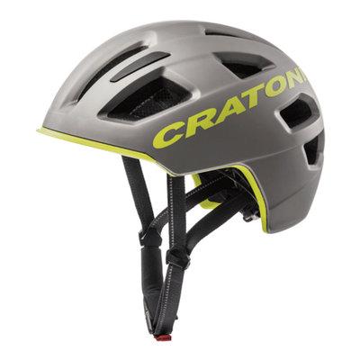 Fietshelm E bike helm - Cratoni C-Pure anthracite-lime matt - kan met verlichting