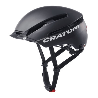 Cratoni C-Loom zwart mat e bike helm - Fietshelm met achterlicht