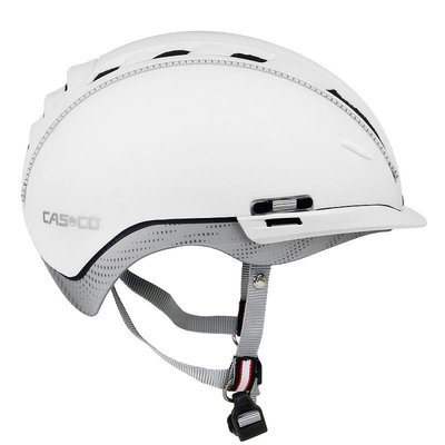 Fietshelm Casco Roadster - wit - Kan optioneel met Casco Speedmask Vizier!