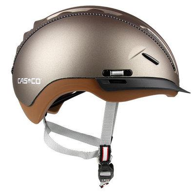 Fietshelm Casco Roadster - olijf bruin - Kan optioneel met Casco Speedmask Vizier!