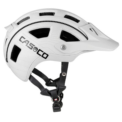 Fietshelm Casco MTBE - wit - ideale mtb helm