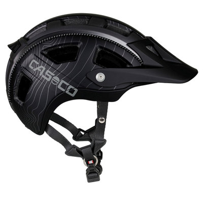 Fietshelm Casco MTBE - zwart - ideale mtb helm