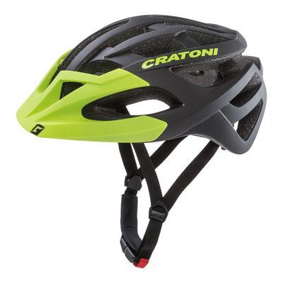 Mtb helm - Cratoni C-Hawk Zwart Groen - zeer goede fietshelm in mtb helm test
