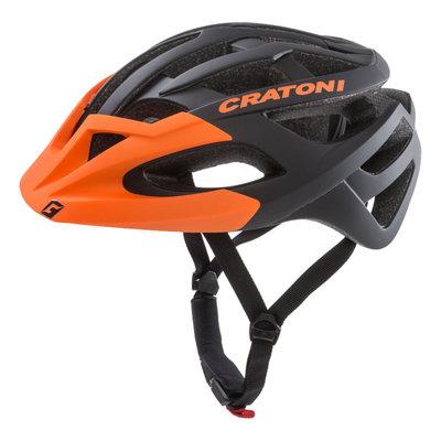 Mtb helm - Cratoni C-Hawk Zwart Oranje - zeer goede fietshelm in mtb helm test