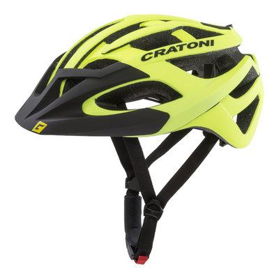 Mtb helm - Cratoni C-Hawk Geel Zwart - zeer goede fietshelm in mtb helm test