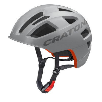 Fietshelm E bike helm - Cratoni C-Pure Grijs Mat - fiets helm met reflector