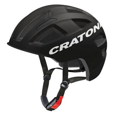 Fietshelm E bike helm - Cratoni C-Pure Zwart Mat - fiets helm met reflector