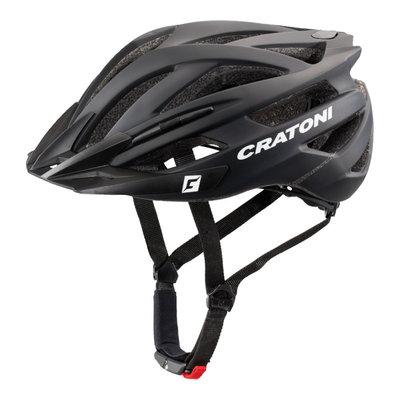 Mtb helm - Cratoni Agravic Zwart Mat - lichte & sportieve mountainbike helm