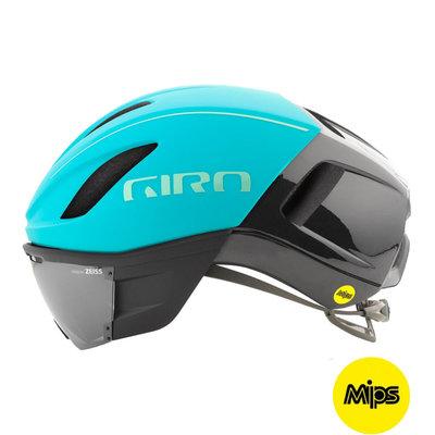 Giro Vanquish Mips Blauw - Racefiets helm - giro Fietshelm Met Vizier van Zeiss