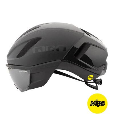Giro Vanquish Mips Zwart Mat - Racefiets helm - Giro Fietshelm met Zeiss Vizier