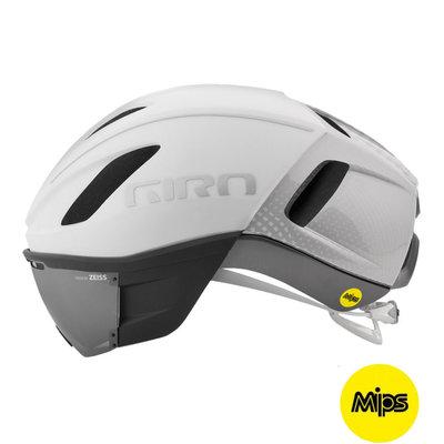Giro Vanquish Mips Wit - Racefiets helm - Giro Fietshelm met Vizier Zeiss