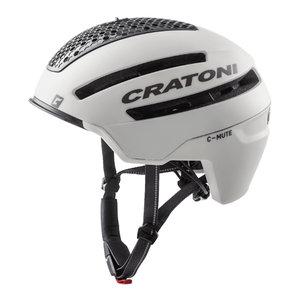 cratoni c-mute wit - speed pedelec helm met verlichting