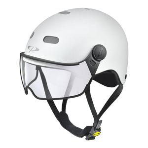 cp270210_cp carachillo e bike helm wit - beste fietshelm met vizier voor brildragers