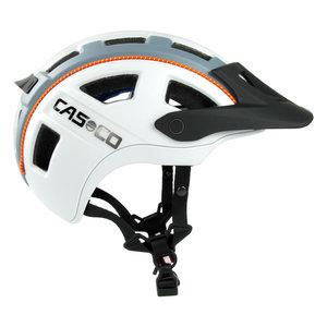 casco mtbe2 wit grijs - mtb helm - mountain bike helm zij1