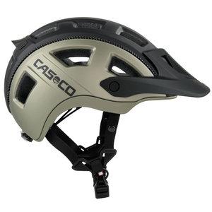 casco mtbe2 zwart titan grijs - mtb helm - mountain bike helm zij