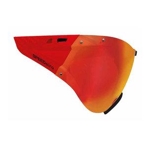 5025 Casco speedmask - casco helm vizier carbonic rood - voor casco roadster - casco speedairo - casco speedster tc plus