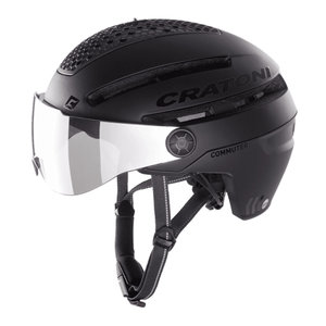 cratoni commuter zwart mat - cratoni speed pedelec helm