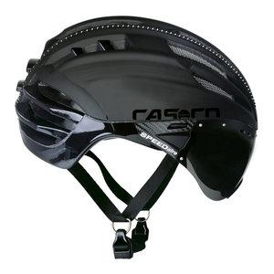 Casco helm Speedairo zwart - beste fietshelm met vizier kopen fietshelm racefiets