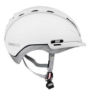 Casco helm Roadster wit kopen - beste fietshelm - kan met casco speedmask fietshelm vizier als optie