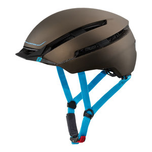 Fietshelm met vizier Cratoni CC-Loom Bruin Blauw mat  - Fietshelm Speed Pedelec kopen online 2