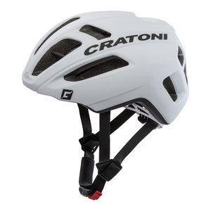 racefiets helm Cratoni C-Pro wit zwart - professionele wielrenhelm kopen online