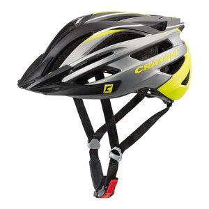 mtb helm Cratoni tracer antraciet geel - prima mountainbike helm